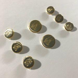 BURBERRY blazer buttons